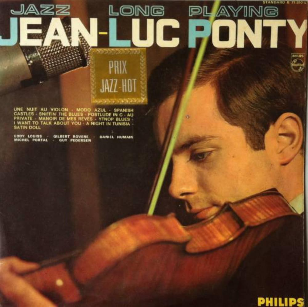 Jean-Luc Ponty - Jazz Long Playing CD (album) cover