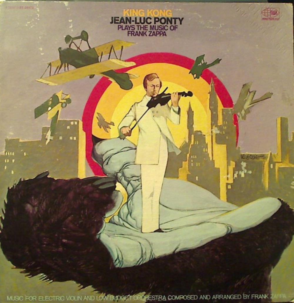 King Kong - Jean-Luc Ponty Plays The Music Of Frank Zappa by PONTY, JEAN-LUC album cover