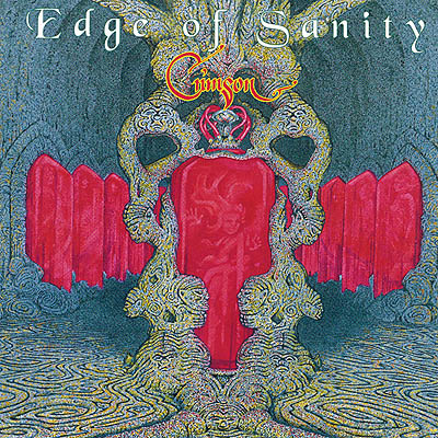 Crimson by EDGE OF SANITY album cover