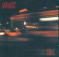 Trial by ANNALIST album cover