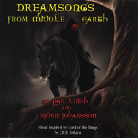 P�r Lindh and Bj�rn Johansson - Dreamsongs From Middle Earth CD (album) cover
