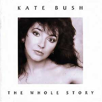Kate Bush The Whole Story album cover