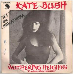 Kate Bush Wuthering Heights album cover