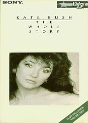 Kate Bush - The Whole Story VHS CD (album) cover