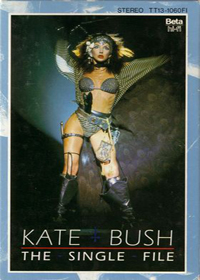 Kate Bush - The Single File (VHS) CD (album) cover