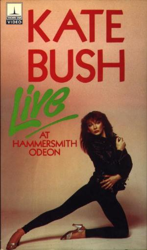 Kate Bush - Live At The Hammersmith Odeon (Video) CD (album) cover