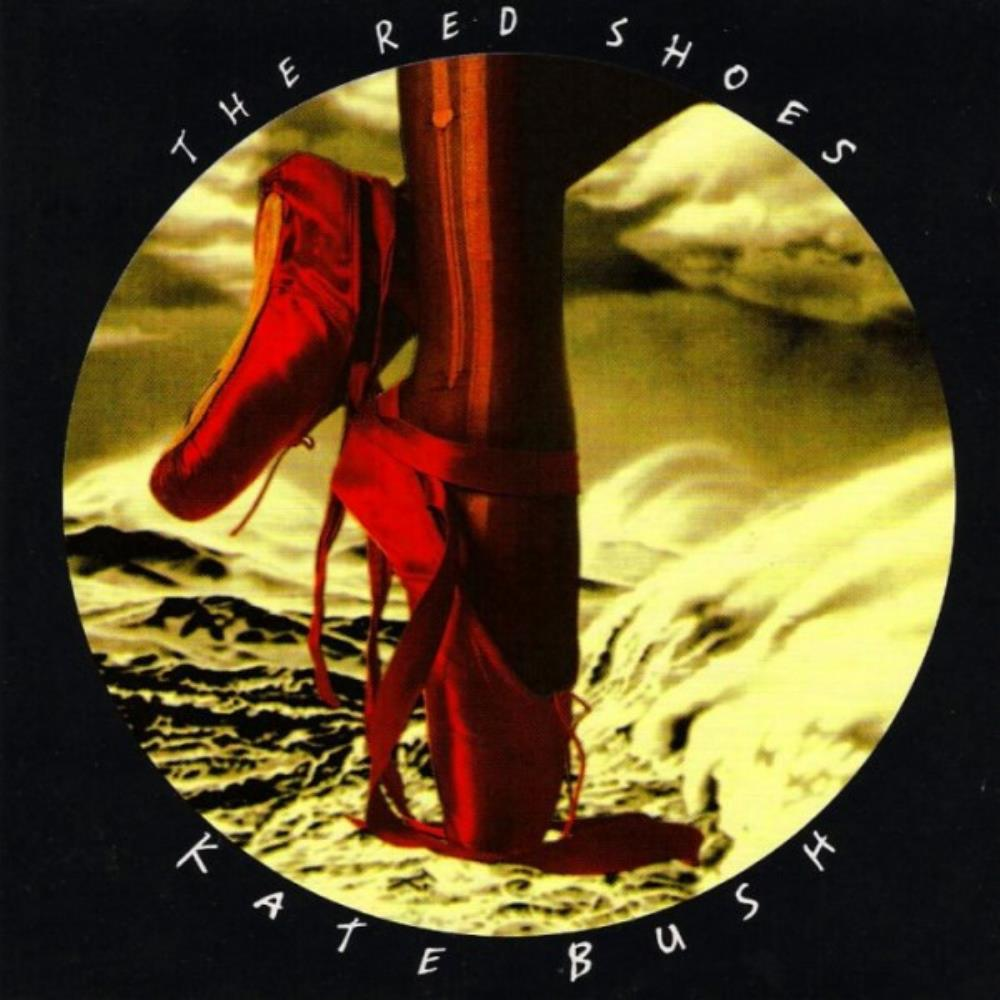 Kate Bush The Red Shoes album cover
