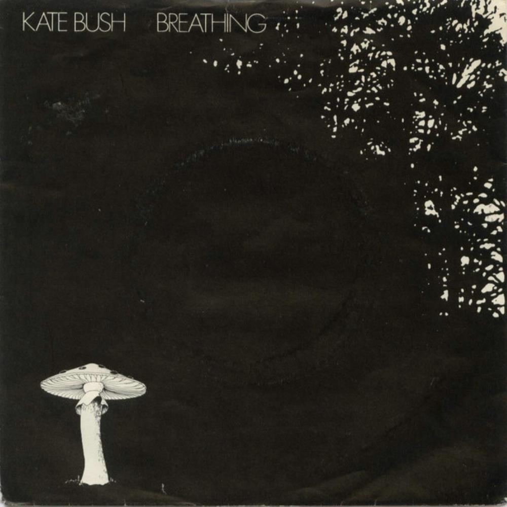 Breathing / The Empty Bullring by BUSH, KATE album cover