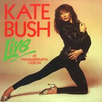 Kate Bush Live At The Hammersmith Odeon album cover