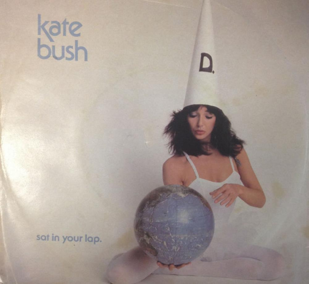 Kate Bush Sat in Your Lap album cover