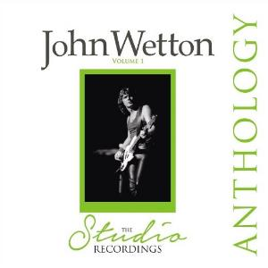 John Wetton The Studio Recordings Anthology album cover