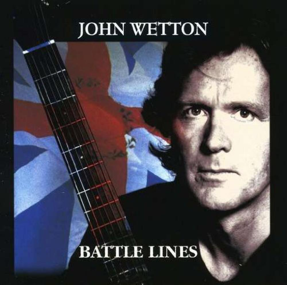 John Wetton Battle Lines [Aka: Voice Mail] album cover