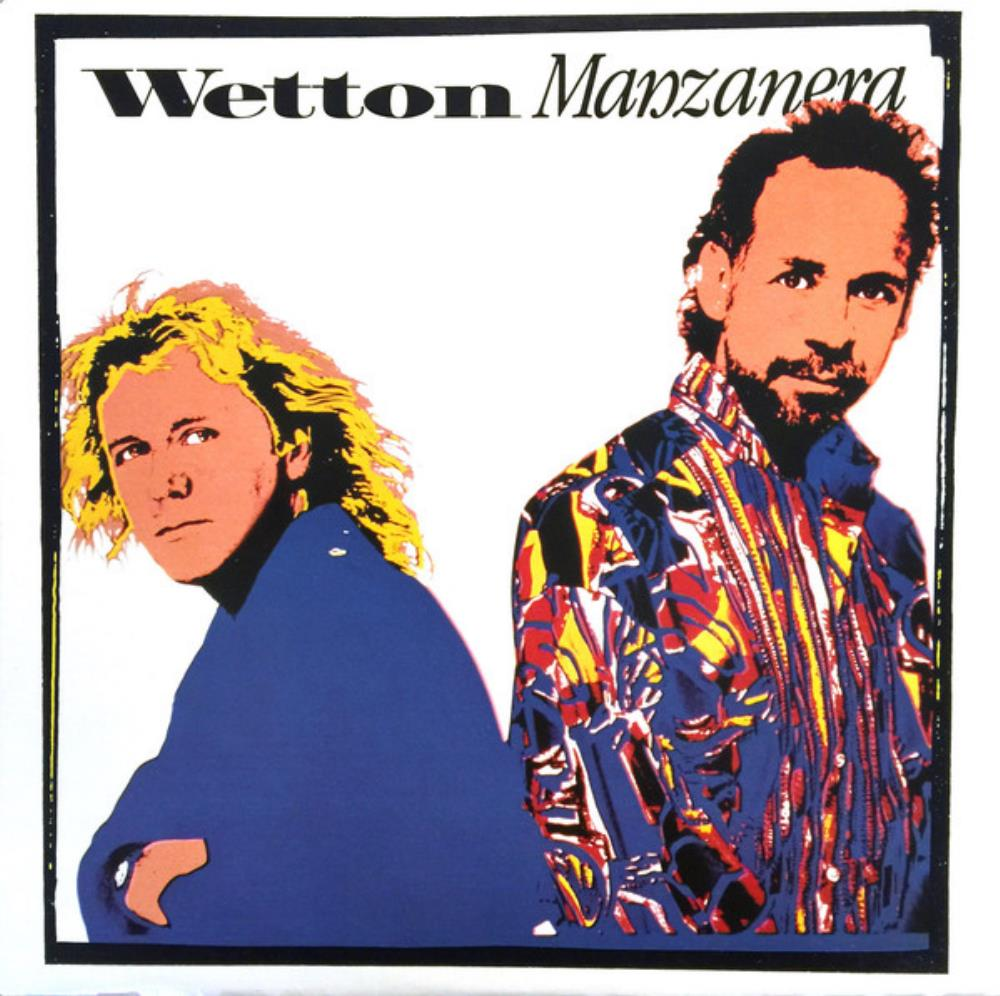 Wetton Manzanera [Aka: One World] by WETTON, JOHN album cover