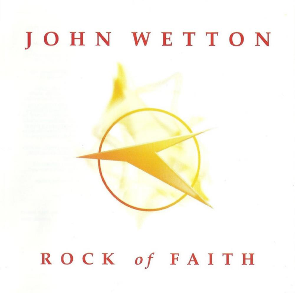 John Wetton Rock Of Faith album cover