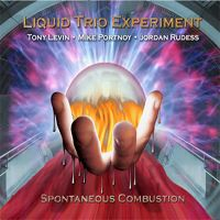 Liquid Tension Experiment - Spontaneous Combustion CD (album) cover