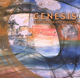 Genesis For Two Grand Pianos Vol. 2 by GUDDAL (YNGVE) & MATTE (ROGER T.) album cover