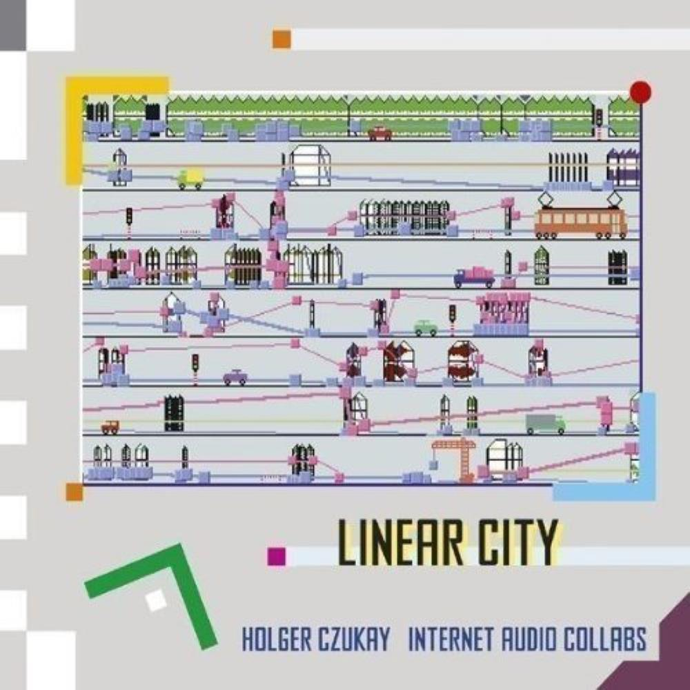Holger Czukay Linear City album cover