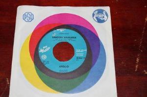 Pakoon Maailmaa by APOLLO album cover