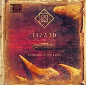 Destruction and Little Pieces of Cheese by Lizard album rcover
