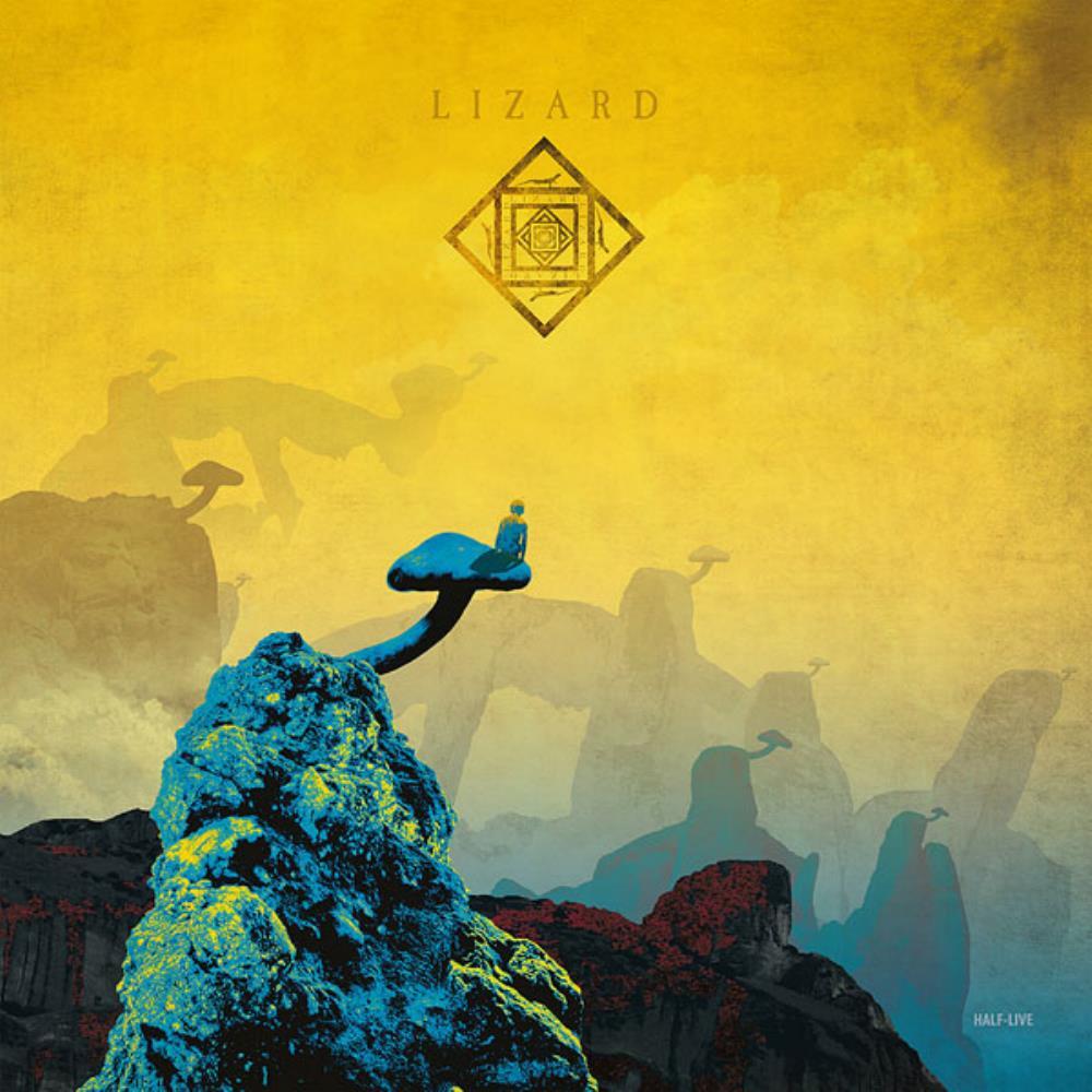 Half-Live by LIZARD album cover