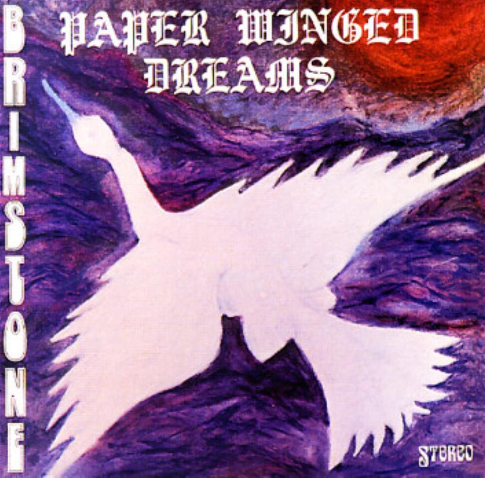 Paper Winged Dreams by BRIMSTONE album cover