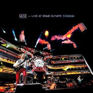 Muse Live at Rome Olympic Stadium album cover