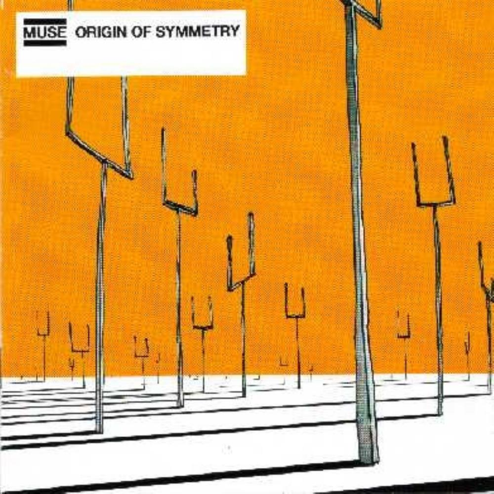 Muse - Origin Of Symmetry CD (album) cover