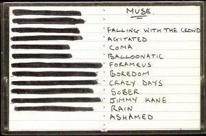 Muse - Newton Abbot Demo CD (album) cover