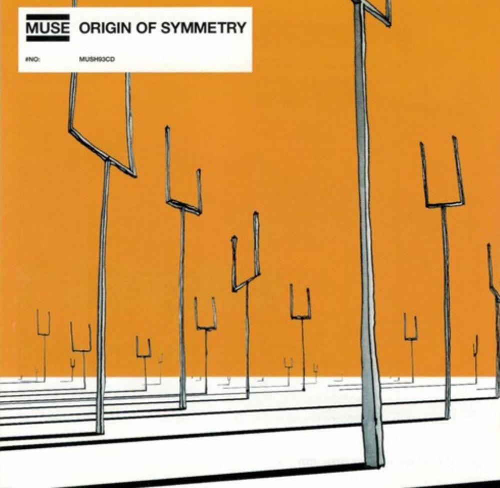 Origin Of Symmetry by MUSE album cover