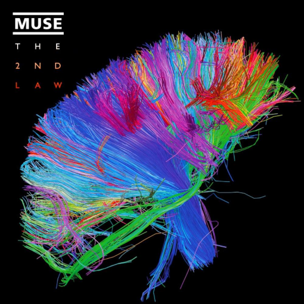 Muse - The 2nd Law CD (album) cover