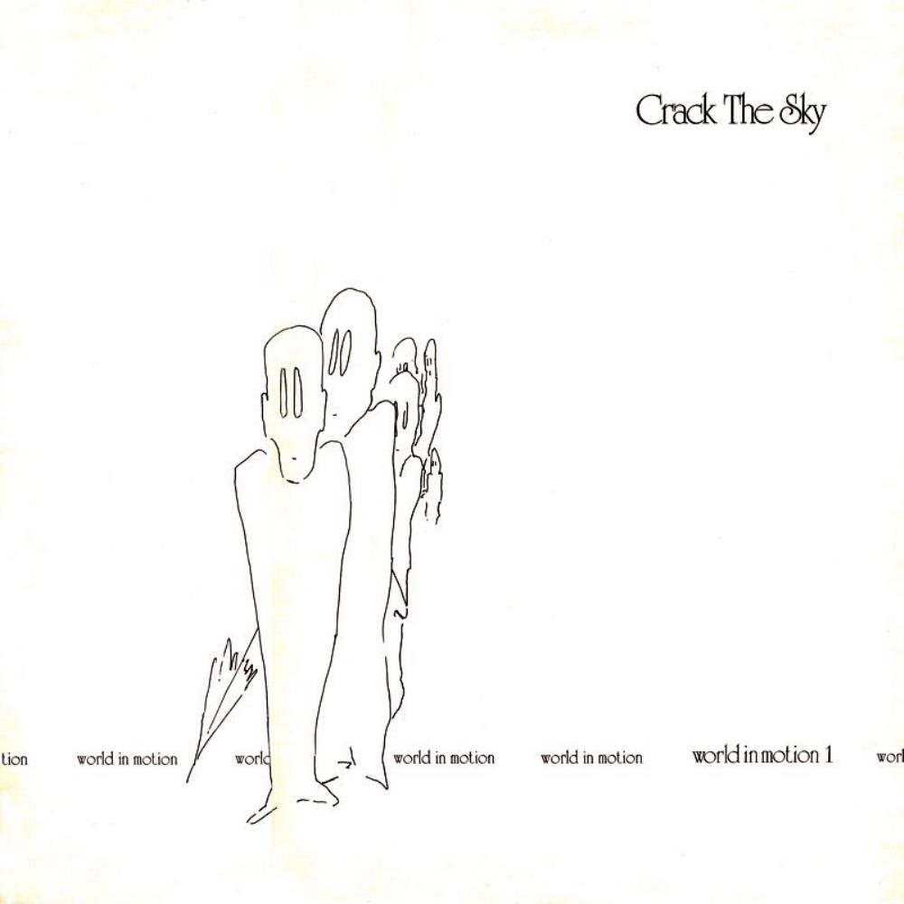 Crack The Sky World In Motion 1 album cover