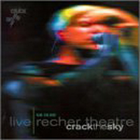Crack The Sky - Live - Recher Theater CD (album) cover