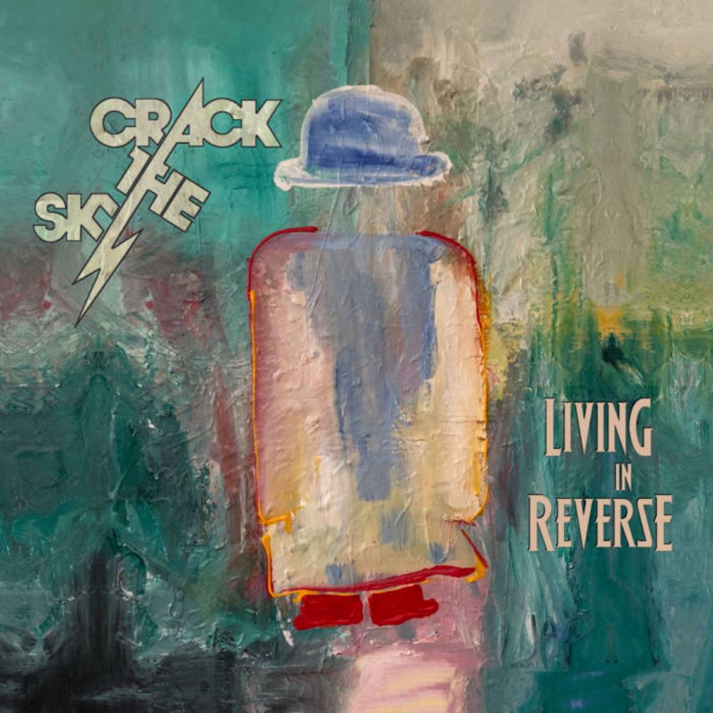 Living In Reverse by CRACK THE SKY album cover