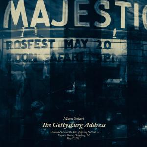 Moon Safari - The Gettysburg Address CD (album) cover