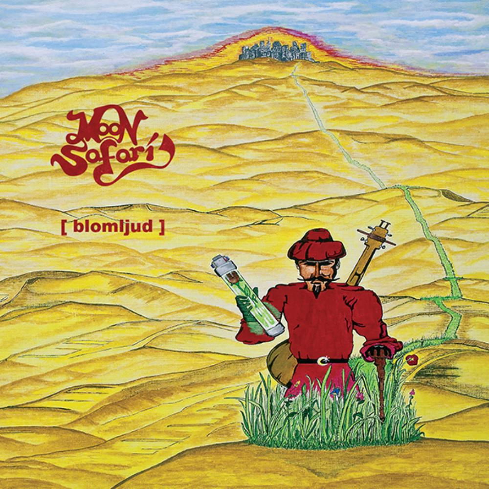 Moon Safari Blomljud album cover