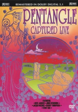 The Pentangle Captured Live album cover