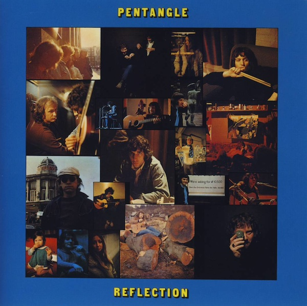 The Pentangle - Reflection CD (album) cover