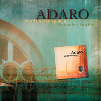 Adaro - Words Never Spoken  CD (album) cover