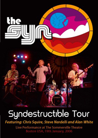 Syndestructible Tour 2006 (DVD) by SYN, THE album cover
