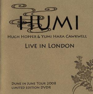 Hugh Hopper Live in London (with Yumi Hara Cawkwell) album cover