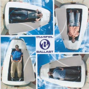Másfél - Ballast CD (album) cover