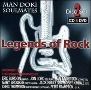 Man Doki Soulmates Legends of Rock album cover