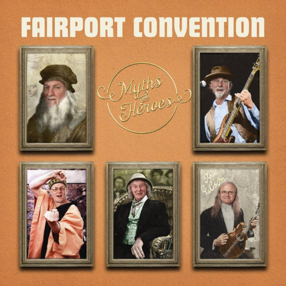 Myths And Heroes by FAIRPORT CONVENTION album cover