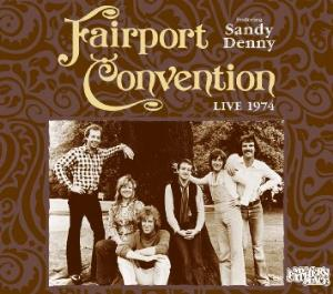 Live At My Father's Place 1974 by FAIRPORT CONVENTION album cover