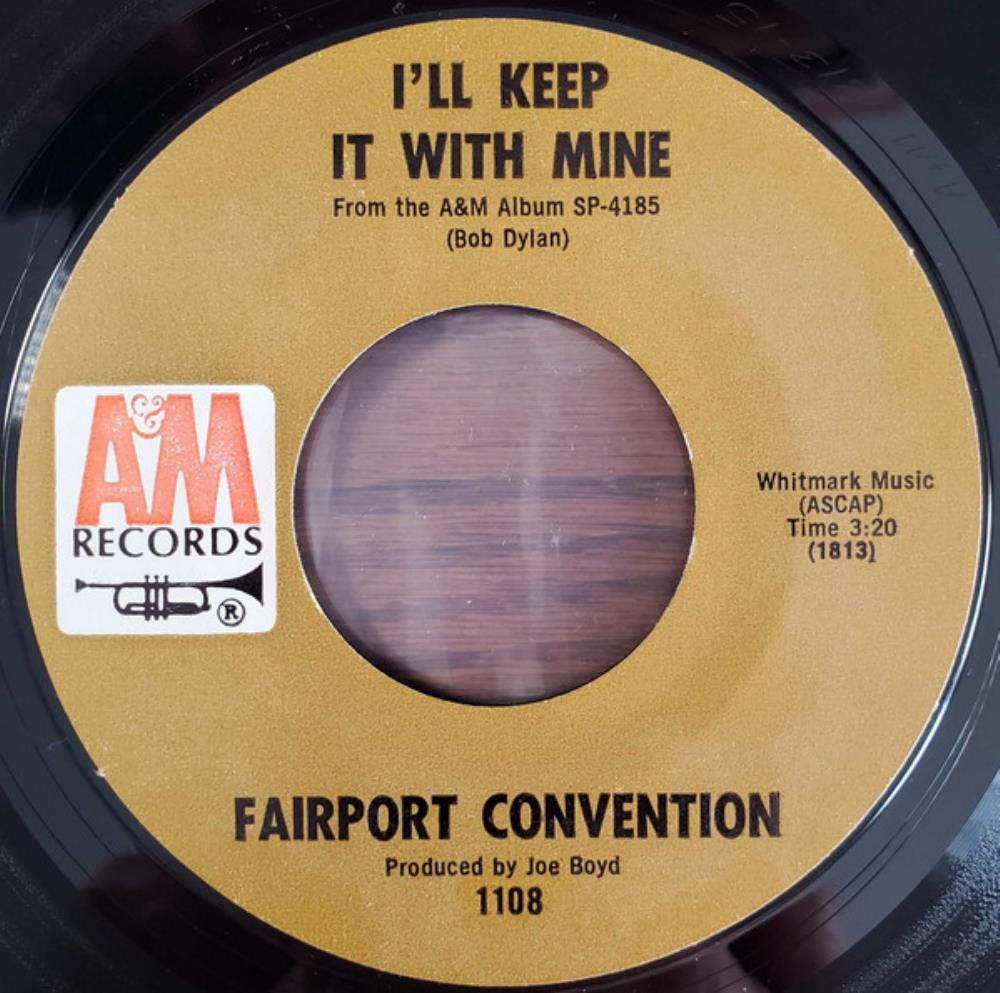 I'll Keep It with Mine by FAIRPORT CONVENTION album cover