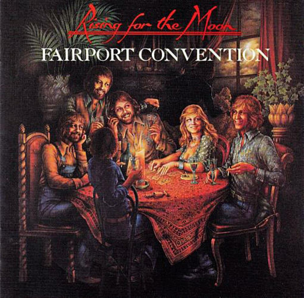 Rising For The Moon by FAIRPORT CONVENTION album cover