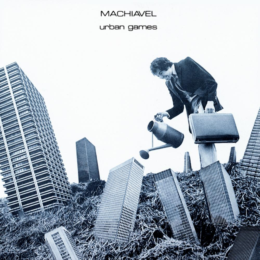 Machiavel - Urban Games CD (album) cover