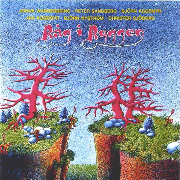 Rag i Ryggen - R�g I Ryggen  CD (album) cover
