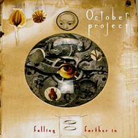 Falling Farther In  by OCTOBER PROJECT album cover
