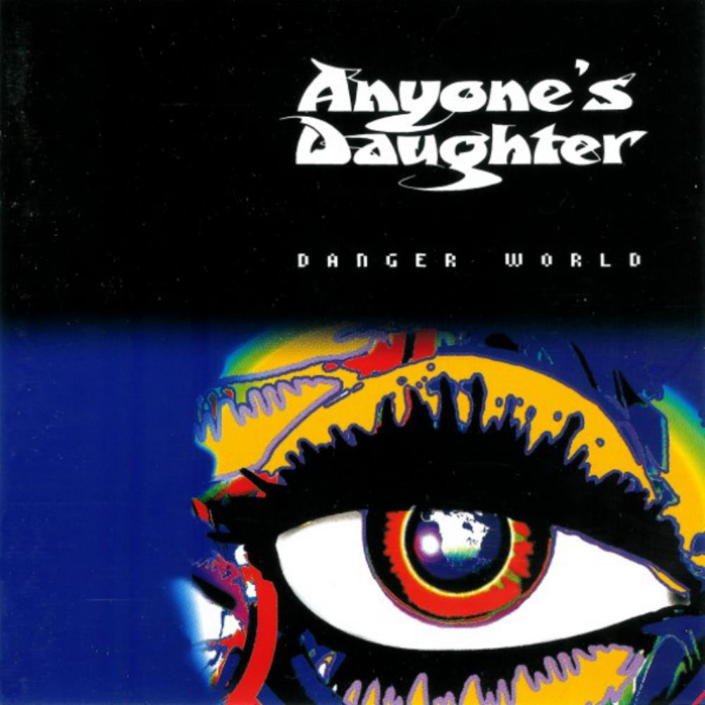 Anyone's Daughter - Danger World CD (album) cover